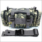 Hunting Camping Biking Tactical 3P SWAT Utility Waist Bag Pack Hand Pouch  /Strap