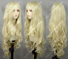 Milk Blonde Wavy Lolita Princess Party Cosplay Wig 100CM