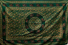 5Colour DOUBLE GOLDEN ELEPHANT Mandala THROW Sofa BEDSPREAD Wall hanging INDIAN