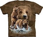 Find 10 Brown Bears Adulto  Animals Unisex T Shirt The Mountain