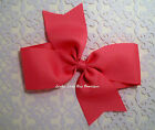 """Extra Large Single Loop Boutique Hair Bow. 6"""" . Made with 2.25"""" grosgrain ribbon"""