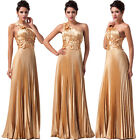 Long Masquerade Wedding Bridesmaid Gown Homecoming Cocktail Evening Dresses Prom