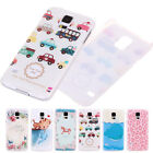 Freshness Dolphin Cat Lovely Thin Hard Back Case Covers For Samsung Galaxy S5
