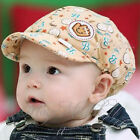 New Cute Kid Toddler Infant Boy's Baby Hat Casquette Peaked Baseball Beret Cap M