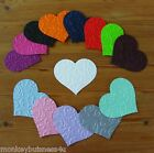 8 Wedding Die Cuts - Embossed #2  Heart - Wedding - Valentine/Love - Invitations