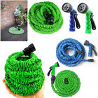 25ft 50ft 75ft Expanding Flexible Garden Hose pipe Expandable +6 dial Spray Gun