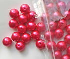 50 x 10mm Stunning Colours Glass Pearl Round Beads x 10mm - G2