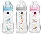 MAM Easy Active Baby Bottle 330 ml mit SkinSoft Sauger ab 4+ Monate *NEU*