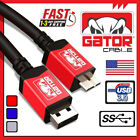 Samsung Galaxy Note 3 S5 Micro USB 3.0 Cable Data Charger Cord SYNC HDD 6FT