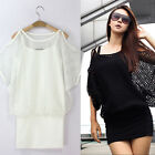 Black/White Women Hollow Sexy Dress Summer Casual Party Size M L