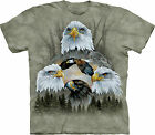 5 Eagle Collage Adult  Animals Unisex T Shirt The Mountain
