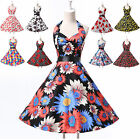 NEWLY Rockabilly 50s Vintage Audrey Hepburn Swing Pinup Prom Party Evening Dress