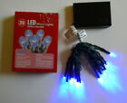 NEW 20 LED Micro Light Set BLUE or MULTI Battery Operated