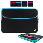 """15.6"""" Washable Neoprene Protective Carrying Sleeve Case fits HP Envy Laptop PC"""