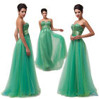 2014 Lovable Wedding Bridal Gown Long Bridesmaid Evening Formal Party Prom Dress