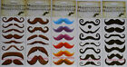 Temporary Water Proof Mustache Tattoos  Choose Style
