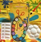 Kids Painting/Craft Protector Messy Mat & Paint Palette or 12 Watercolour Paints