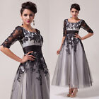 2014 VINTAGE PROM DRESS Lace Tulle Housewife Cocktail Party Gown Pageant Dresses
