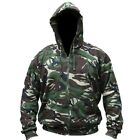 BRITISH ARMY HOODED JACKET HOODIE FLEECE LINED DPM CADET MILITARY AIRSOFT SCOUT