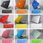 """Rubberized Hard Matte Case Cover Shell for Macbook PRO 13"""" inch + Keyboard Cover"""
