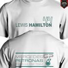 LEWIS HAMILTON MERCEDES F1 TEAM FORMULA 1 short and long sleeve S to XXL