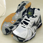 Mizuno Japan Men's WAVE TORNADE 9 MID Volleyball Shoes White 2014 New