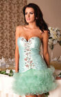 New Ladies Womens Wedding Bridesmaid Cocktail Party Evening Gown Mini Dress