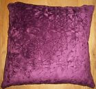 "Luxury super soft crushed velvet cushion cover (18""x18"") £6.99 ***FREE P&P***"