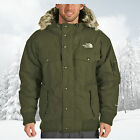 THE NORTH FACE MENS GOTHAM DOWN INSULATED WATERPROOF JACKET - FIG - L & XL