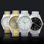 New Fashion men's Stainless Steel watches Business Luxury Quartz Wrist Watch
