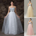 Formal Wedding Graduation Bridesmaid Gown Evening Prom Cocktail Sweetheart Dress