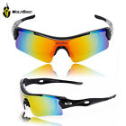 Sports Cycling Bike Bicycle Sunglasses UV400 3 Lens Replacement Goggles Glasses