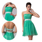 CHEAP Lady Evening Party Prom Ball Gowns Wedding Bridesmaid Cocktail Short Dress