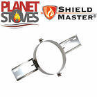 Stainless Steel Shieldmaster Roof Support For Twin Wall Insulated Flue Pipe