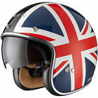 Black Jack Limited Edition Open Face Helmet Union Jack Scooter Motorcycle