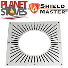 Stainless Steel Shieldmaster Ventilated Fire Stop Plate Twin Wall Flue Pipe