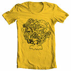 """Yellow """"Crazy Afro"""" retro 70's Foxy brown Pam Grier Jackson 5 inspired T Shirt"""
