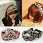 Chic Elegant Lace Elastic Hair Head Band Hoop Accessory tie Hairband Headband