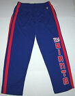 Nwt New York Giants ny NFL Football Logo Athletic Pants Blue Red Mesh Nice Men