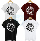 BLINK 182 T SHIRT TEE TOP TSHIRT BIG SMILE FACE ROCK BAND MUSIC SMILEY MENS NEW