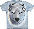White Wolf DJ Child  Animals Unisex T Shirt The Mountain