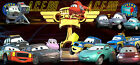 Disney Pixar Cars Piston Cup Security Officials Reporters Photographers and Fans