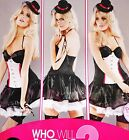 Ex-Ann Summers  'RING LEADER Sexy Bedroom Dress-Up or Hen Night  sz  12