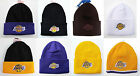Los Angeles Lakers Cuffed Beanie Winter Cap Hat Authentic Adidas