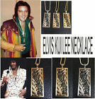 ELVIS ALOHA CONCERT NECKLACE KUI LEE with CZ ENAMEL ROPE CHAIN