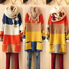 Qualities Slim Wide Thicken Loose Bat Sleeve Overall Knitwear Sweater Cardigan