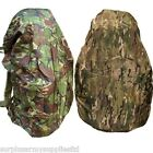 MILITARY WATERPROOF RUCKSACK COVER 120 45 LITRE BERGEN MTP DPM CAMPING HIKING