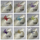 10 pieces Butterfiy Paper Napkin Ring Wedding Party Favor Banquet Decoration
