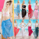 Chiffon Sexy Women Lady Bikini Cover-Up Wrap Swimwear Beach Sarong Scarf Pareo