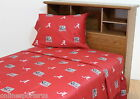 Alabama Crimson Tide Sheet Set Twin Full Queen King Red or White